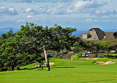 Photograph - Kahili Golf Course Clubhouse by Kirsten Giving