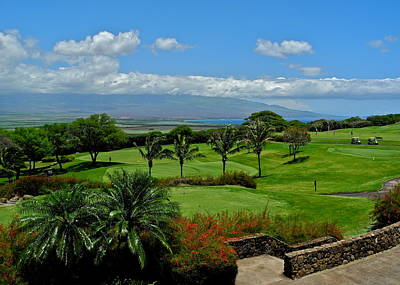 Photograph - Kahili Golf Course Setting by Kirsten Giving