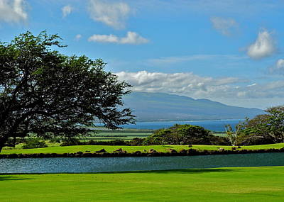 Photograph - Kahili Golf Course Vista In Maui by Kirsten Giving
