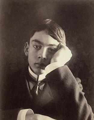 Kahlil Gibran (1883-1931) Art Print