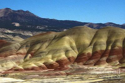 Digital Art - Kahneeta Hills by Nur Roy