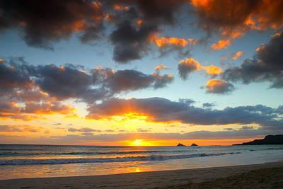 Kailua Beach Sunrise Art Print