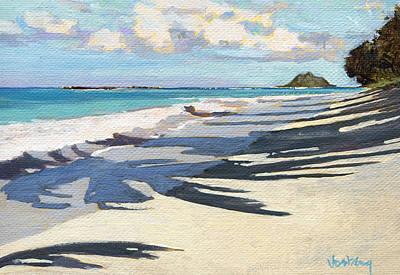 Haleiwa Painting - Kailua Moke 2 by Stacy Vosberg
