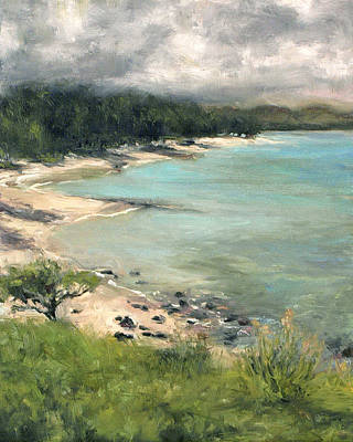 Haleiwa Painting - Kailua by Stacy Vosberg
