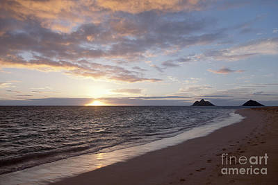 Photograph - Kailua Sunset by Brandon Tabiolo