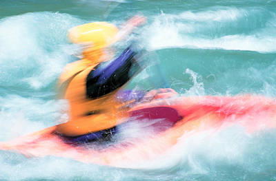 Photograph - Kayaker by Inge Riis McDonald