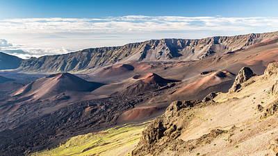 Photograph - kalahaku lookout of Haleakala volcano by Pierre Leclerc Photography