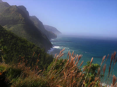 Photograph - Kalalau Trail Napali Coast Winter Morning by Robert Lozen