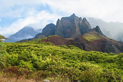 Kalalau Valley - Kauai Hawaii Art Print by Brian Harig