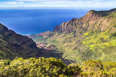 Photograph - Kalalau Valley Kauai by Pierre Leclerc Photography