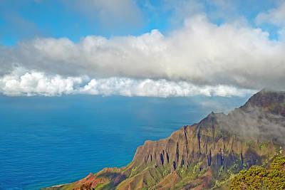 Photograph - Kalalau Valley Lookout  Kauai Hawaii by Marek Poplawski