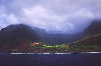Photograph - Kalalau Valley by Morris  McClung