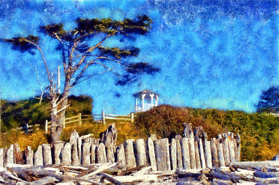 Digital Art - Kalaloch Beach by Kaylee Mason