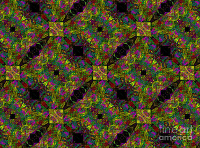 Digital Art - Kaleidoscope #1  by Olga Hamilton
