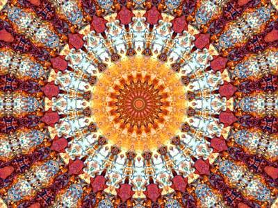 Abstract Digital Mixed Media - Kaleidoscope 5 by Tom Druin
