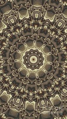 Kaleidoscope 66 Art Print by Ron Bissett