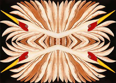 Santa Cruz Watercolor Artists Painting - Kaleidoscope by Alexandra  Sanders