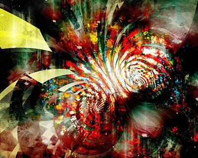 Multicolor Painting - Kaleidoscope by Anastasiya Malakhova