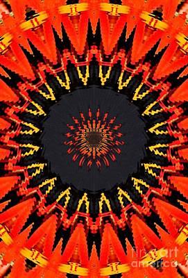 Kaleidoscope Aztec Art Print