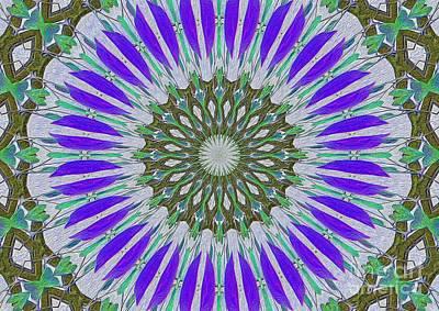 Kaleidoscope Celtic Art Print by Suzanne Handel