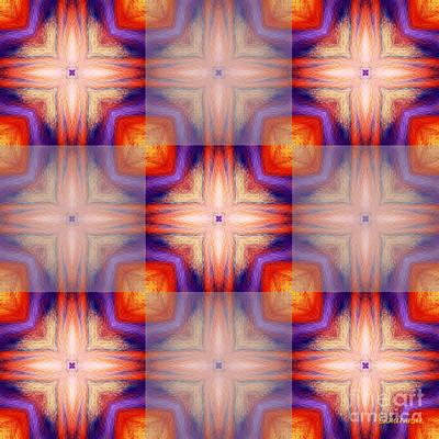 Digital Art - Kaleidoscope Combo 5 by Louise Lamirande