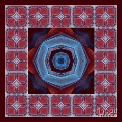 Digital Art - Kaleidoscope Combo 8 by Louise Lamirande