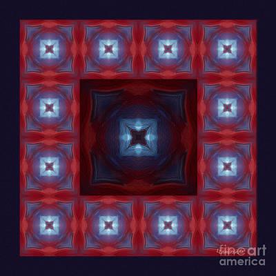 Digital Art - Kaleidoscope Combo 9 by Louise Lamirande