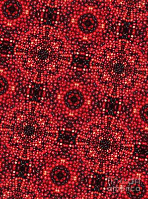 Kaleidoscope Cranberries Art Print