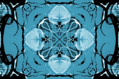 Digital Art - Kaleidoscope Flower 1 by Steve Ball