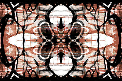 Digital Art - Kaleidoscope Flower 3 by Steve Ball