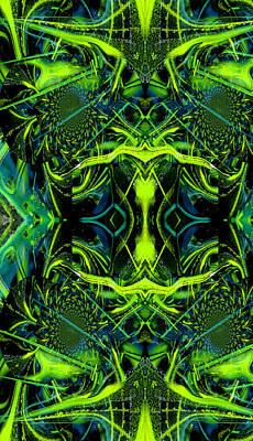 Painting - Kaleidoscope Iphone Case by Robert Kernodle