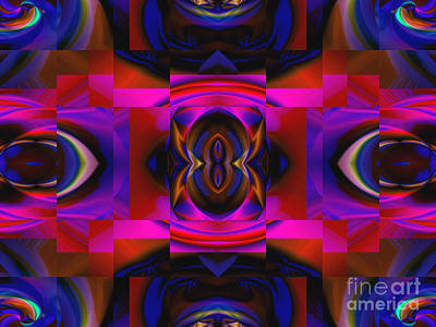 Digital Art - Kaleidoscope by Kristi Kruse
