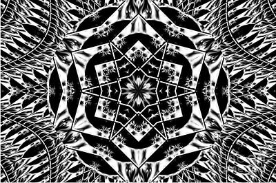 Kaleidoscope Art Print by Loic  GIRAUD