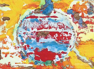 Kaleidoscope - Red White And Blue Original by Elizabeth Briggs