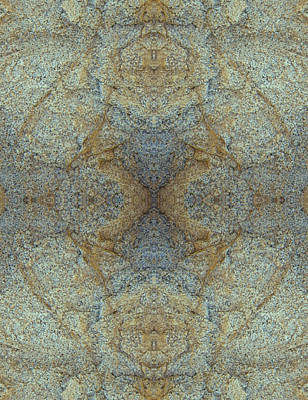 Photograph - Kaleidoscope - Rock 2 by Andy Shomock