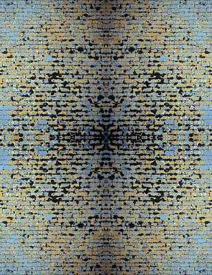 Photograph - Kaleidoscope - Shingles 1 by Andy Shomock