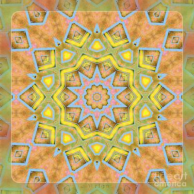 Digital Art - Kaleidoscope - Silk And Satin  by Liane Wright
