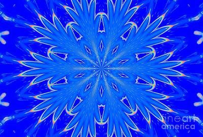 Kaleidoscope Snowflake Art Print