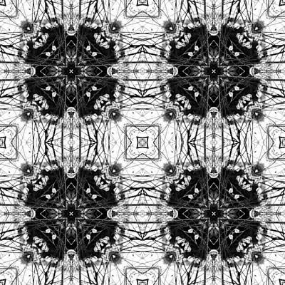 Kaleidoscope Trees Original by Tommytechno Sweden