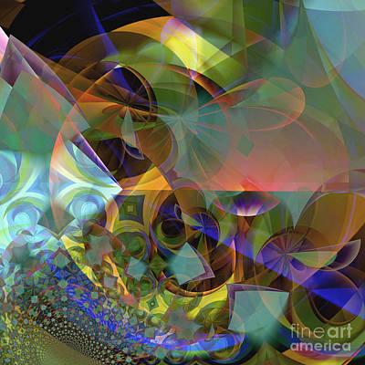 Digital Art - Kaleidoscope by Ursula Freer