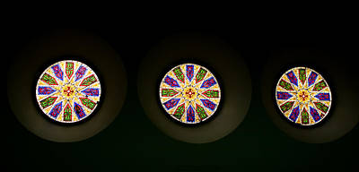 Photograph - Kaleidoscope Window  by Lorraine Devon Wilke