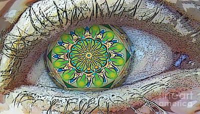 Kaleidoscopeeyeq Art Print