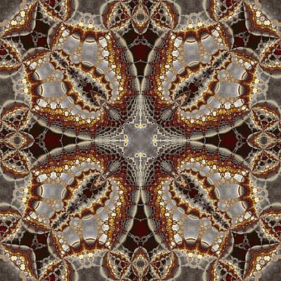 Kaleidoscopic No. 5 Art Print by Mark Eggleston