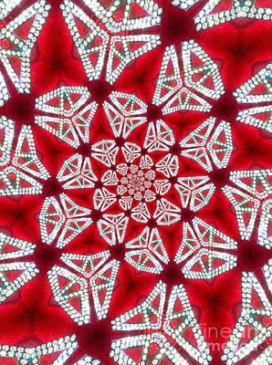 Rhinestone Digital Art - Kaleidscope Rhinestones by Amy Cicconi