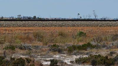 Photograph - Kalgoorlie Rail Line by Cheryl Miller