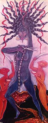 Painting - Kali Chinnamasta by Linda Falorio