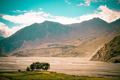Mukti Photograph - Kali Gandaki Valley View From Kagbeni by Raimond Klavins