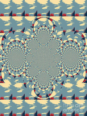 Frizzell Photograph - Kalidescope Lace by Michelle Frizzell-Thompson