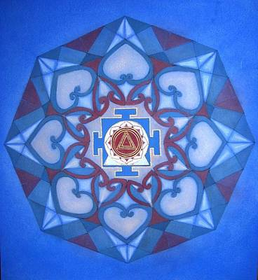 Kalima Mandala Art Print