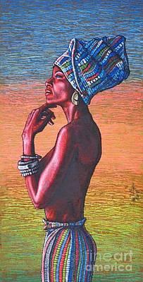 Kalimba De Luna Art Print